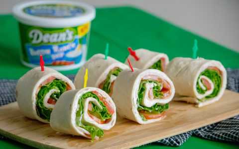 Bacon Ranch Pinwheels