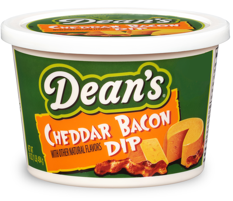 Try Dean's Cheddar Bacon dip.