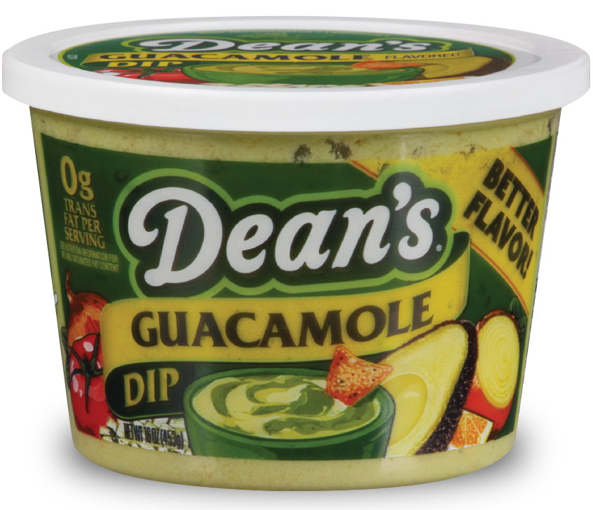 Try Dean's Guacamole Dip for easy, delicious dipping.