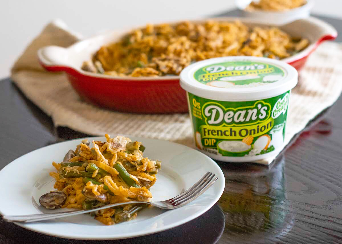 Dean's French Onion Dip - French Onion Green Bean Casserole